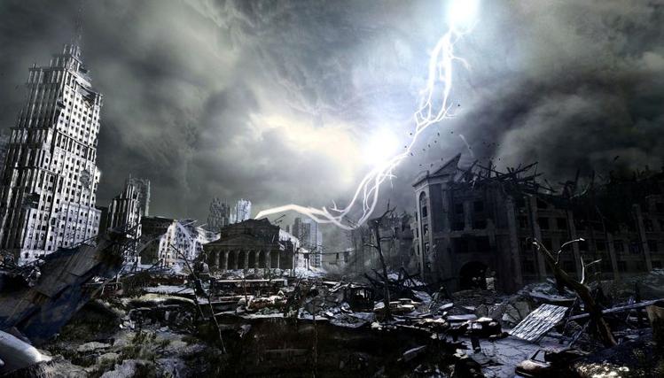 To nie zdjęcia z Wałbrzycha. To świat po zagładzie atomowej.