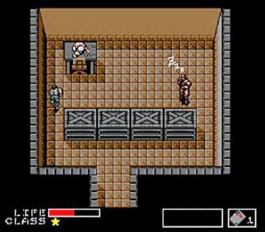 Strażnik zdecydowanie znużony mechaniką gry.