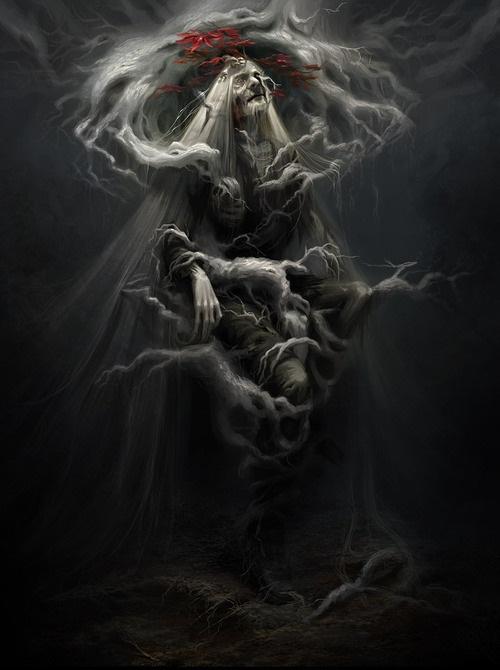 Trójoka Wrona w swej prawdziwej postaci.