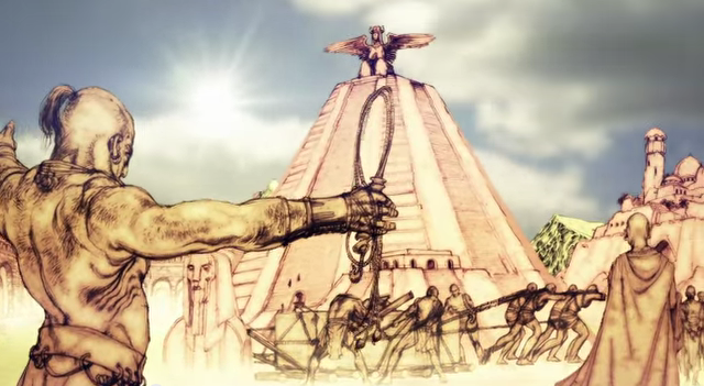 Stare Ghis - pierwsze imperium powstałe po Długiej Nocy.