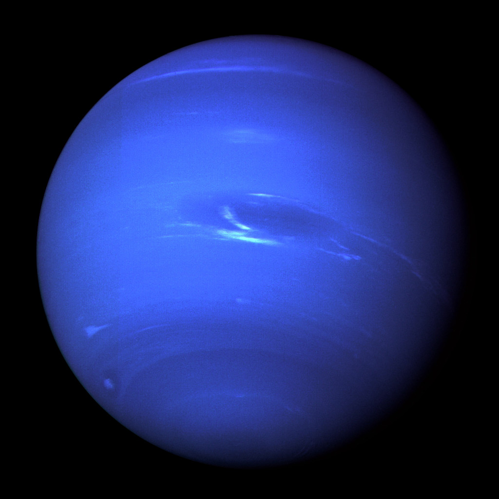 Neptun, Voyager 2