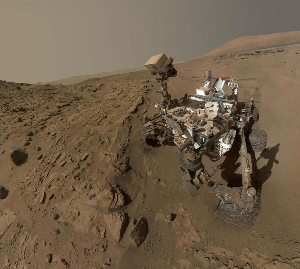 Selfie na Marsie