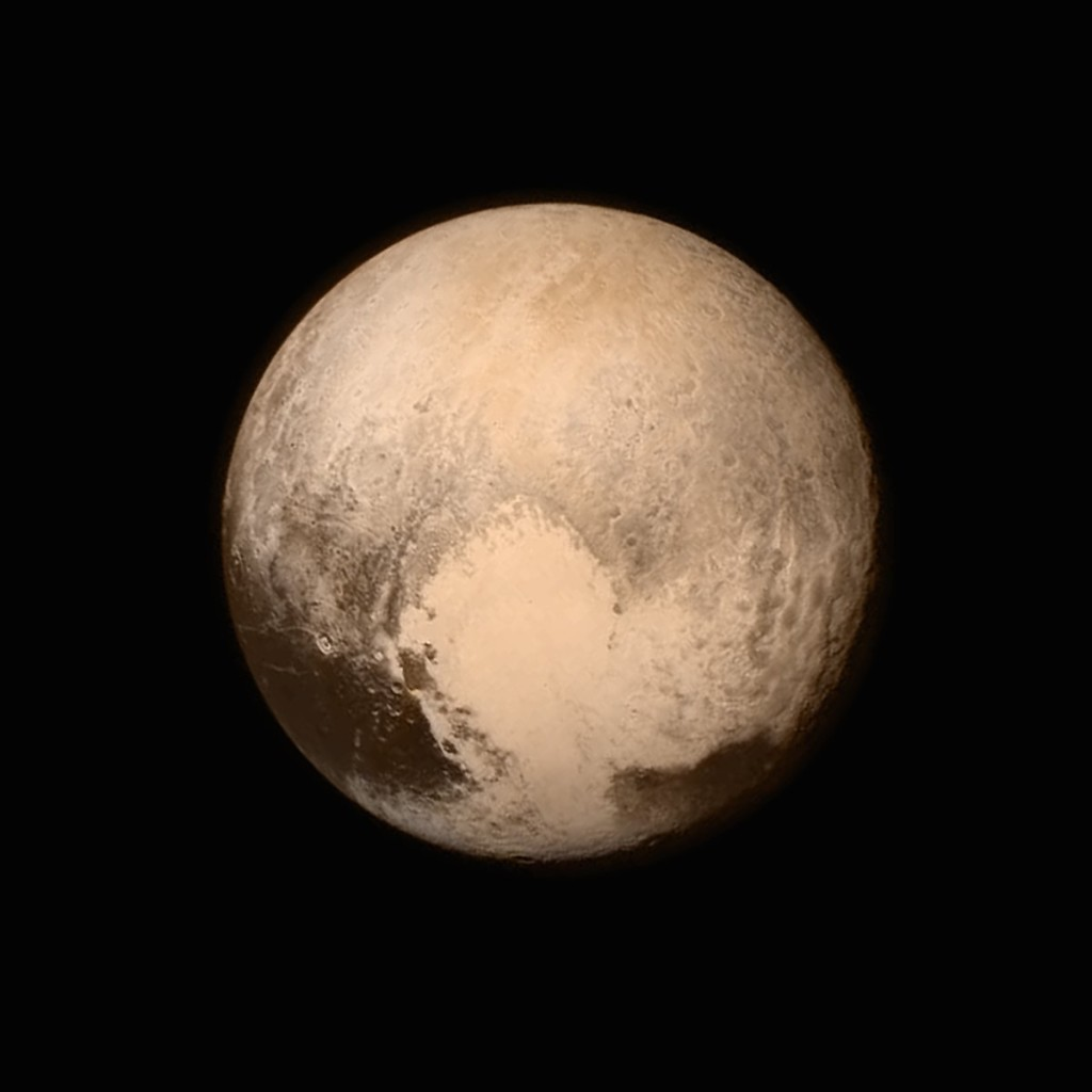 Pluton, New Horizons