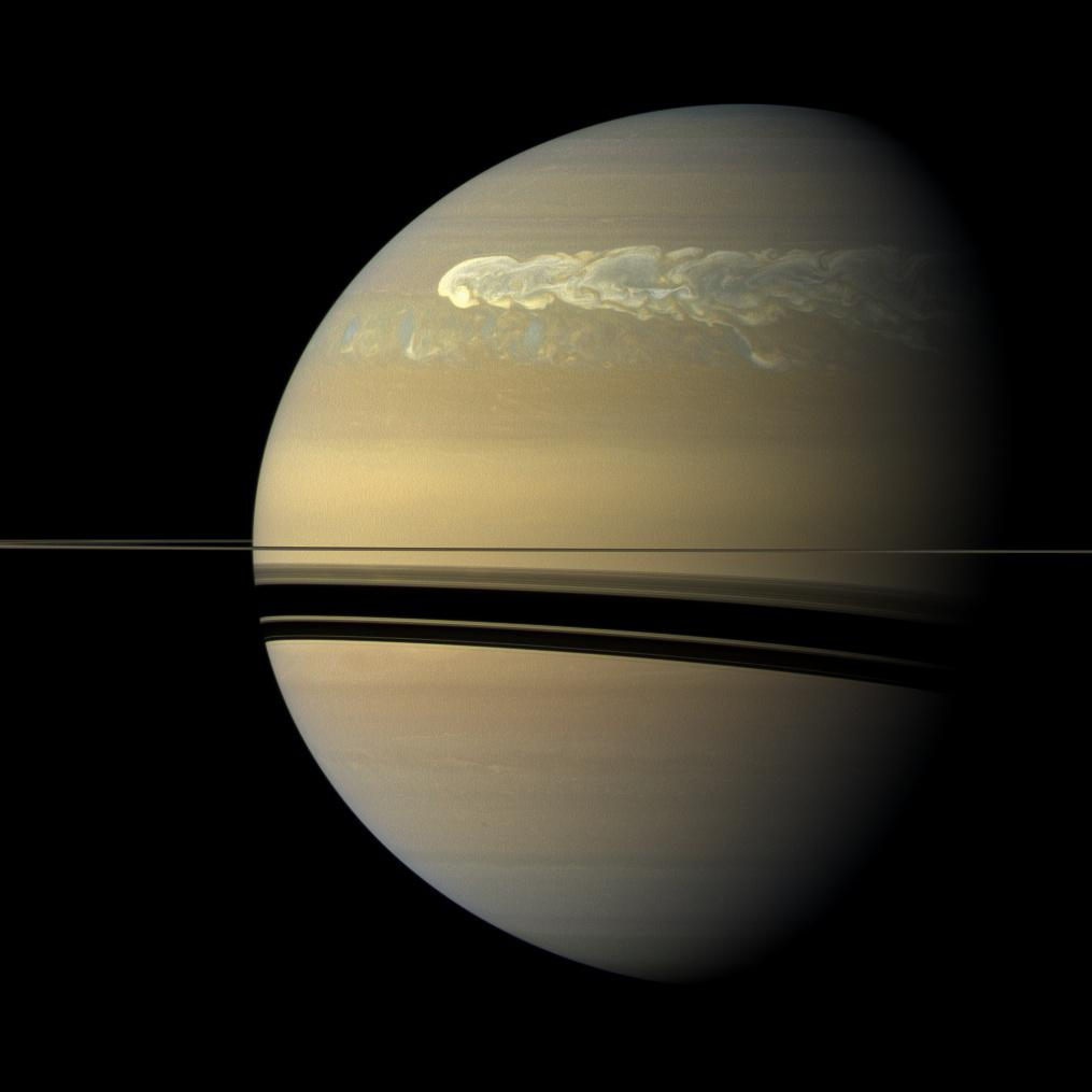Saturn, sonda Cassini