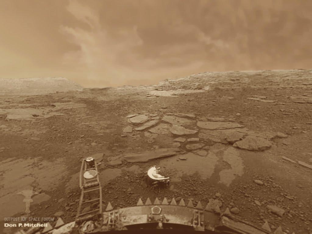 Zdjęcie z lądownika Venera