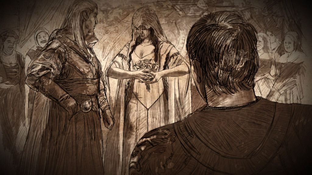 Ślub Rhaegara Targaryena i Elii Martell