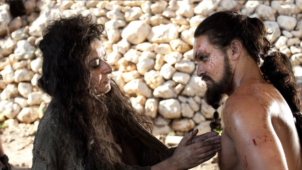 Mirri Maz Duur i Khal Drogo