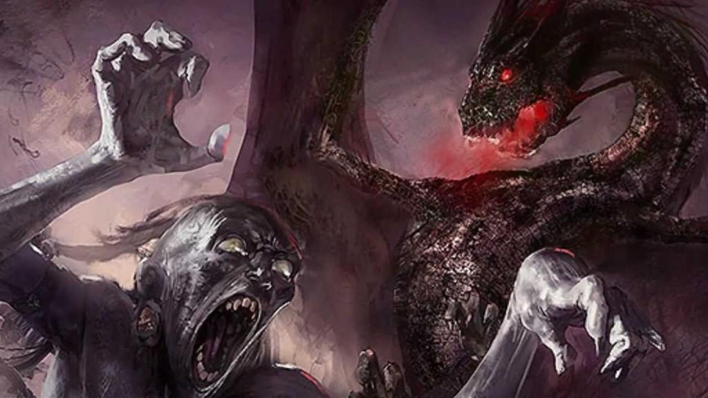 Drogon pomaga wyjaśnić pewne nieporozumienie z Nieśmiertelnymi.