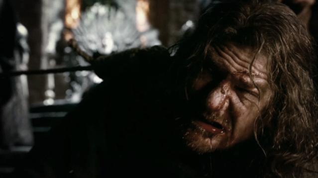 Śmierć Brandona Starka. Scena z nigdy nie wyemitowanego pilota serialu.