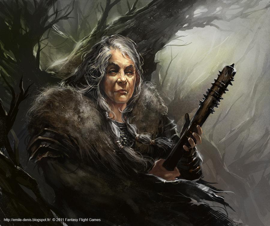 Maege Mormont, jedna z sygnatariuszek królewskiego dekretu.