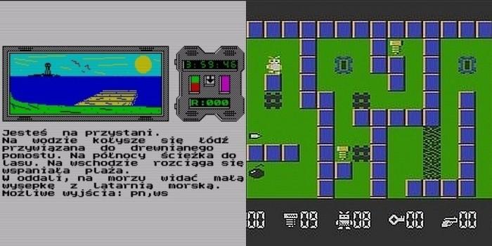 Mózgoprocesor (1989) i Robbo (1989) - przeboje z ośmiobitowców