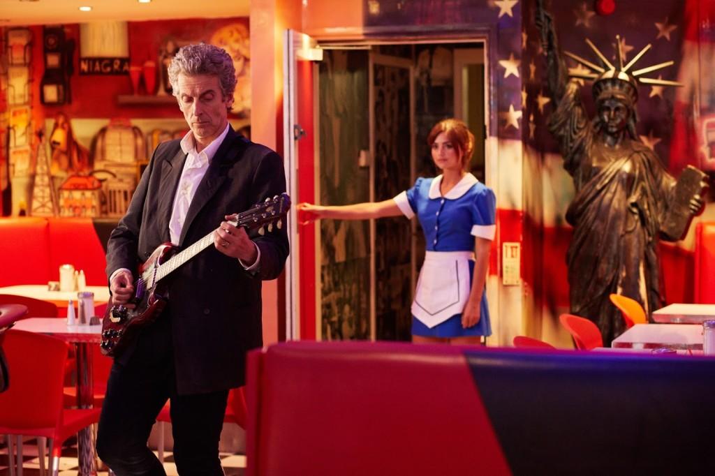 Doktor, Clara i knajpka, którą dobrze znamy.
