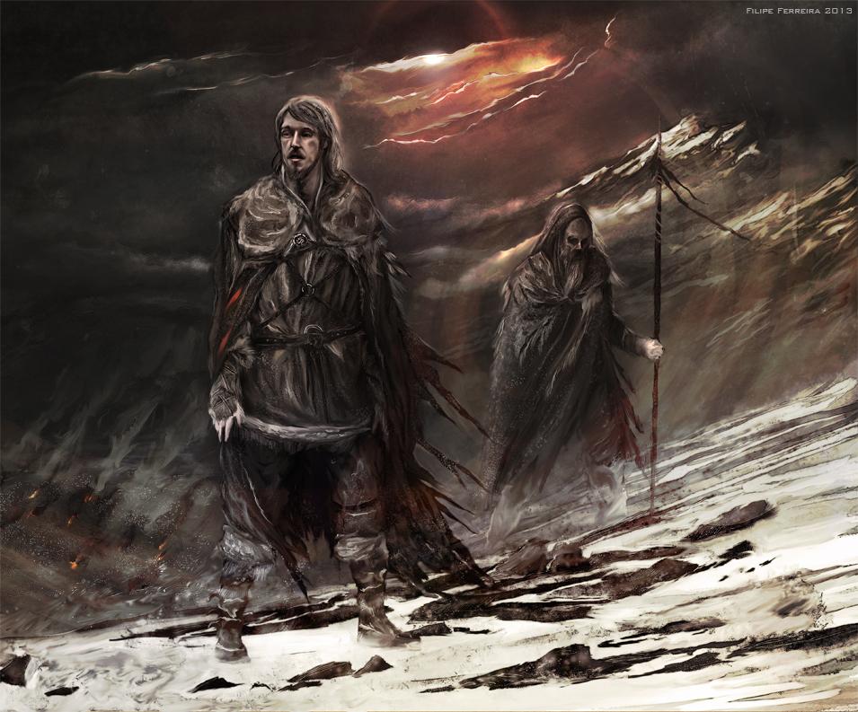 Książkowy Mance Rayder.