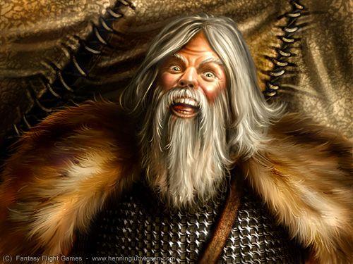 Książkowy wizerunek Tormunda Zabójcy Olbrzyma.