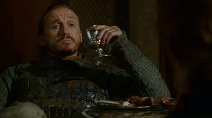 Bronn - człowiek o prostej filozofii życiowej.