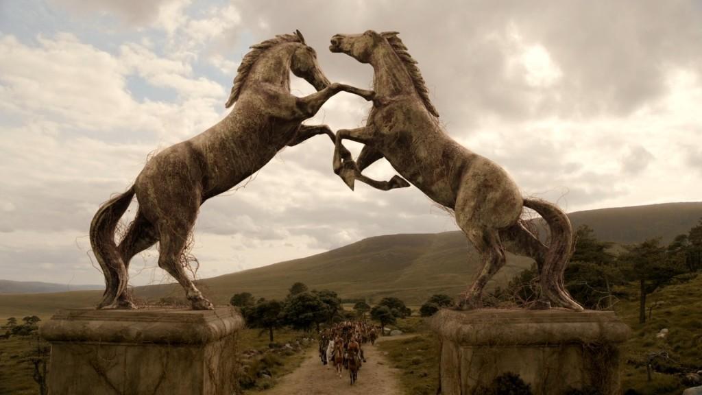 Vaes Dothrak w sezonie 1. Wytęż wzrok i znajdź 10 szczegółów... ;)