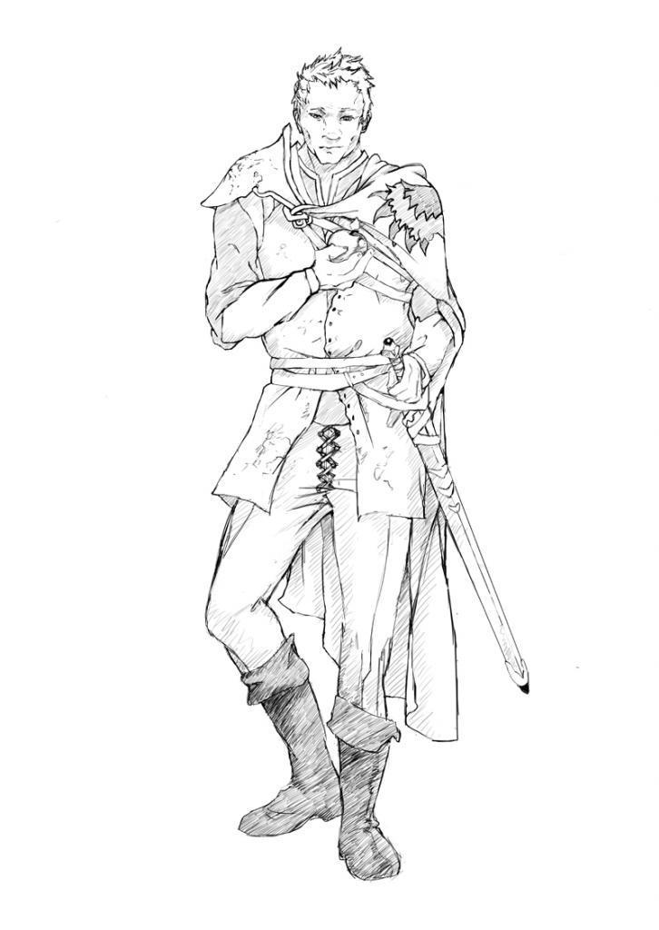 Ser Lothor Brune. Ukryty sztylet Sansy?