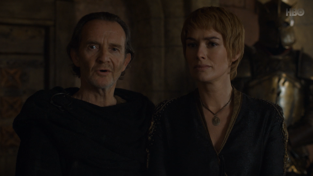 Po śmierci Blackfisha i Stannisa, Qyburn staje się moją ulubioną postacią w tym serialu.
