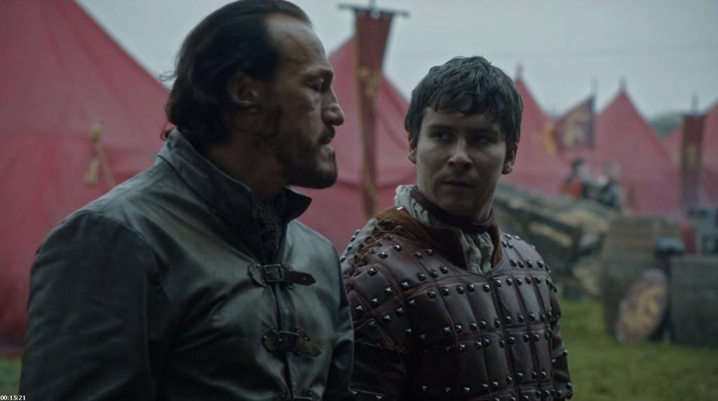 Bronn i Podrick mają więcej chemii niż Goździk i Sam.