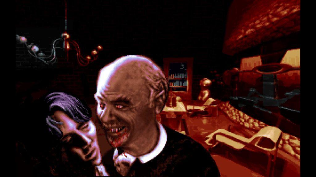 Bloodnet z 1993 roku. Cyberpunk, krew i wampiry.