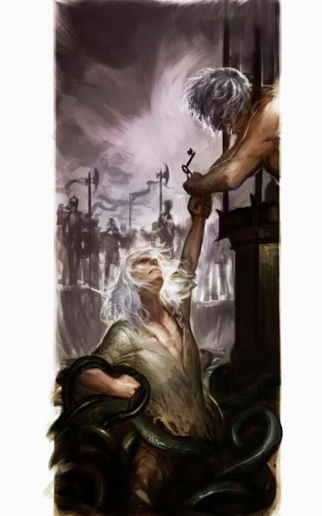 Baelor I ratuje Aemona Smoczego Rycerza.