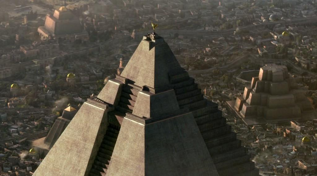 Wielka Piramida w Meereen.