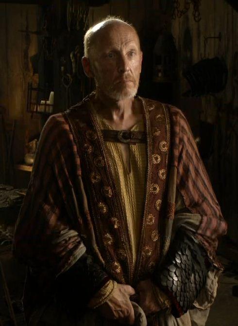 Mistrz Mott w serialu HBO.