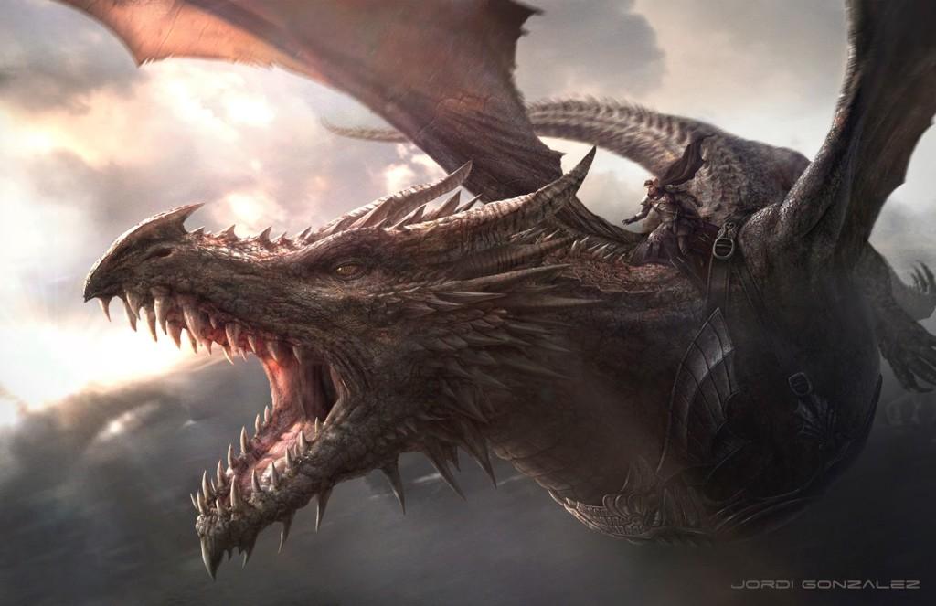 Aegon Zdobywca na Balerionie