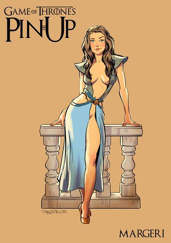 Margaery Tyrell, Miss Wschodu Westeros.