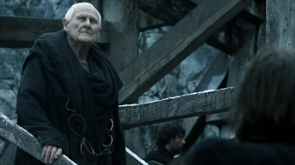 Peter Vaughan jako Aemon Targaryen.