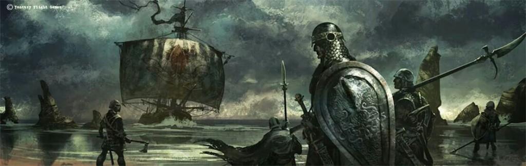 Żelaźni Ludzie i ich drewniane statki.