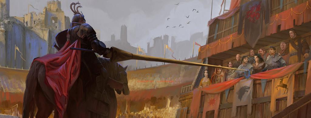 Rhaegar na Turnieju w Harrenhal.