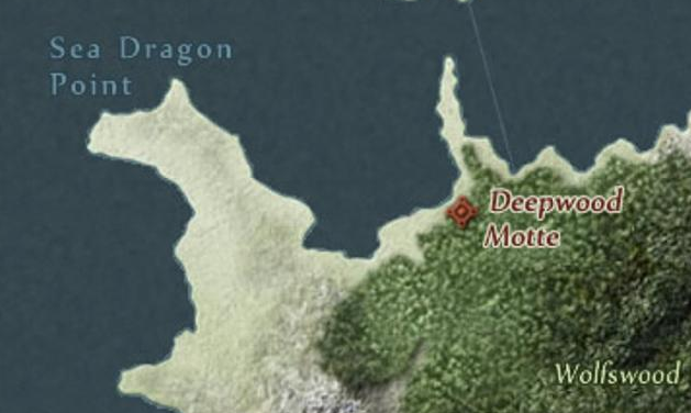 Wilczy las i Przylądek Morskiego Smoka.