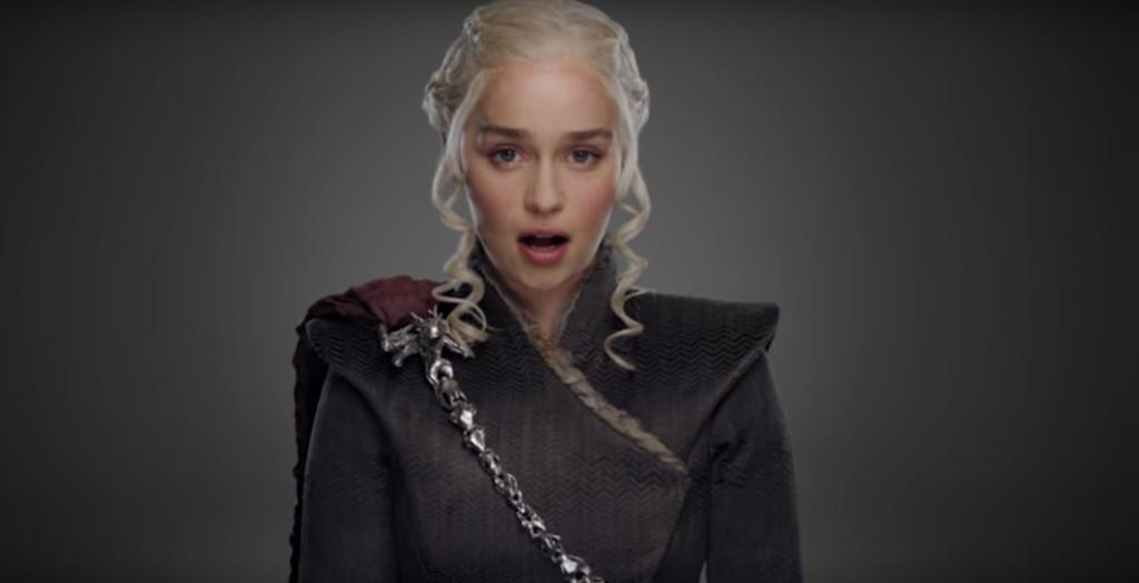 Daenerys w spocie HBO.