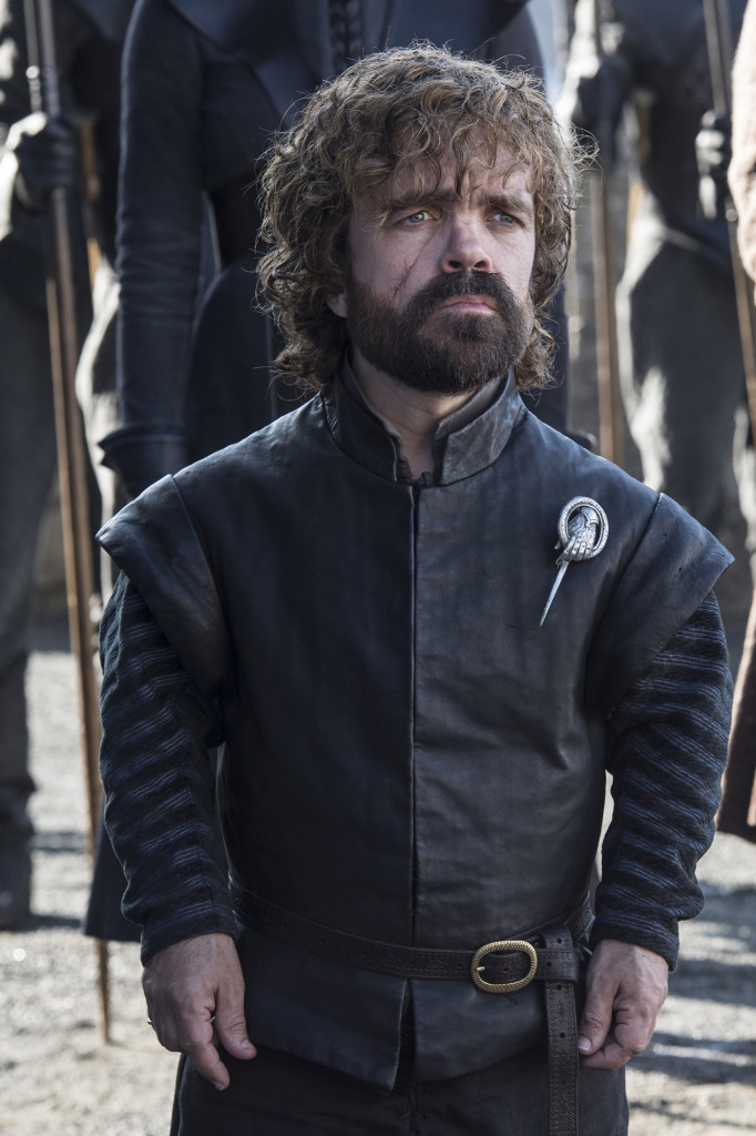 Tyrion próbuje sobie przypomnieć kiedy przestał być blondynem.