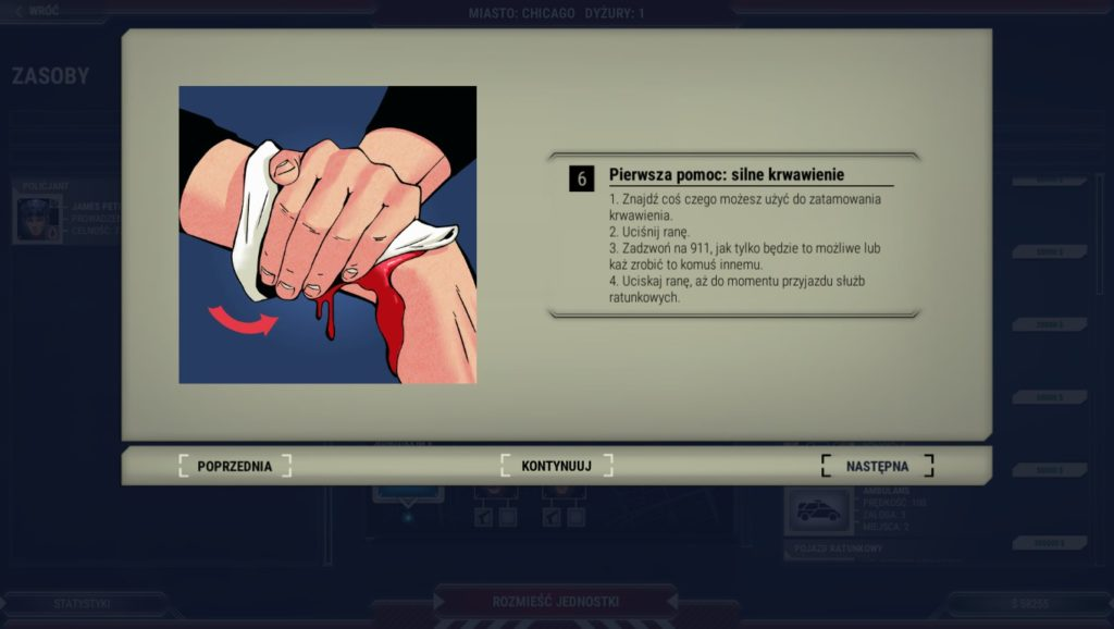 pierwsza pomoc instrukcja