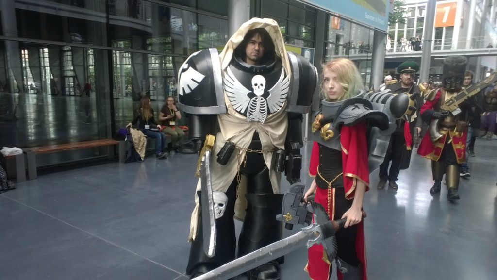 WH40K cosplay