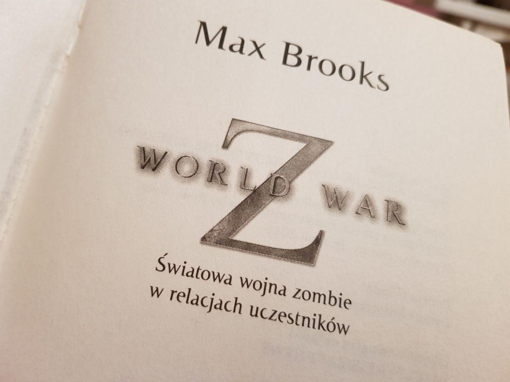 world war z polish edition