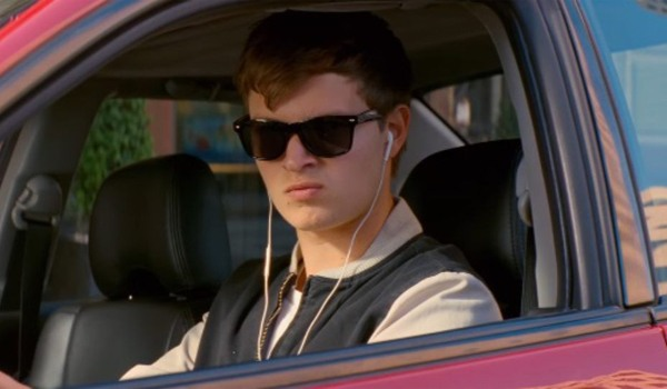 Kadr z filmu Baby Driver