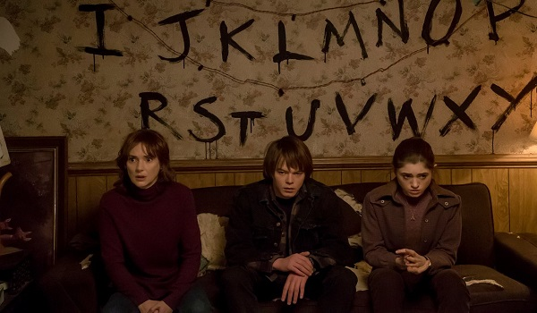Kadr z serialu Stranger Things