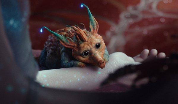 Kadr z filmu Valerian i Miasto Tysiąca Planet