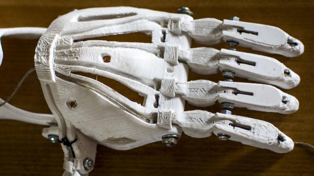 Wydrukowana proteza