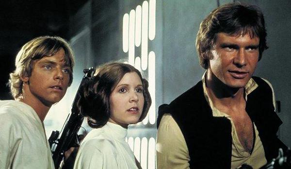 Kadr z filmu Gwiezdne Wojny