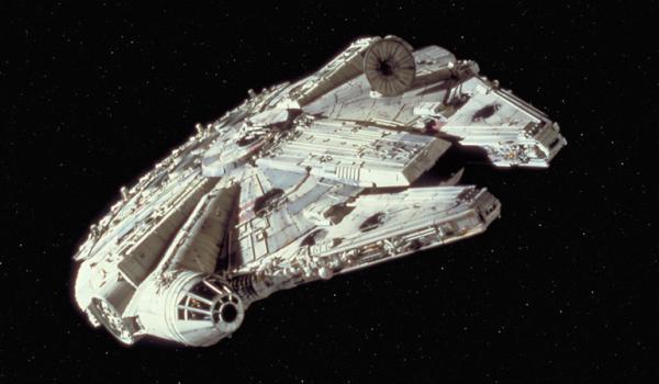 Kadr z filmu Gwiezdne Wojny.