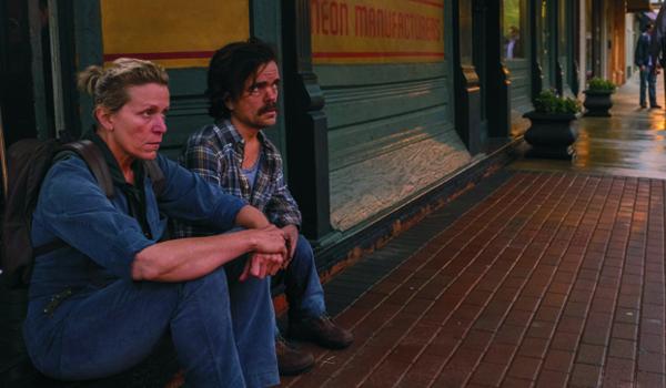 """Kadr z filmu """"Trzy Billboardy za Ebbing, Missouri """""""
