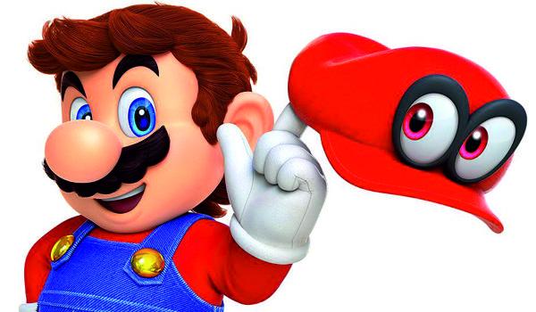 "Screen z gry ""Super Mario Odyssey"""