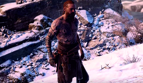 "Kadr z gry ""God of War (2018)"""