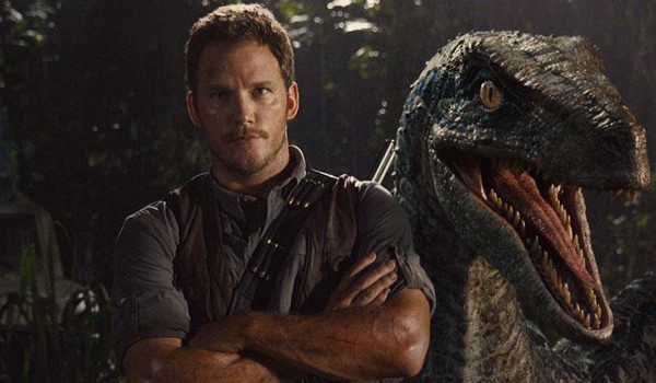 "Kadr z filmu ""Jurassic World"""