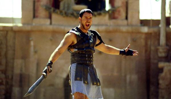 "Kadr z filmu ""Gladiator"""