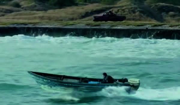 """Kadr z filmu """"Potrójna granica"""""""